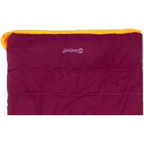 Outwell Champ Sleeping Bag Kids Beet Red